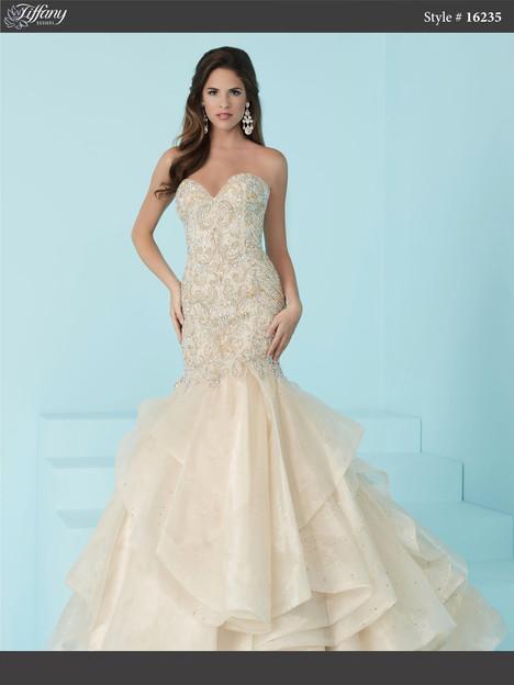 16235 (champagne) Prom dress by Tiffany Designs