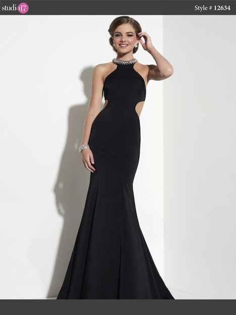 12634 (black) Prom                                             dress by Studio 17