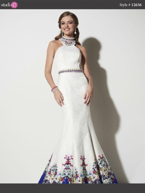 12636 (ivory) Prom                                             dress by Studio 17