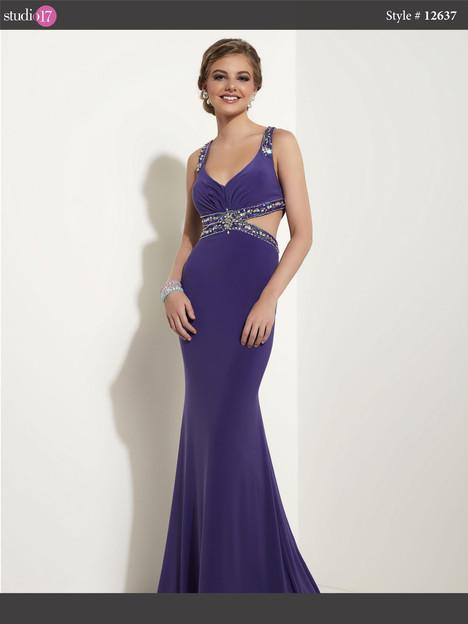 12637 (purple) Prom                                             dress by Studio 17