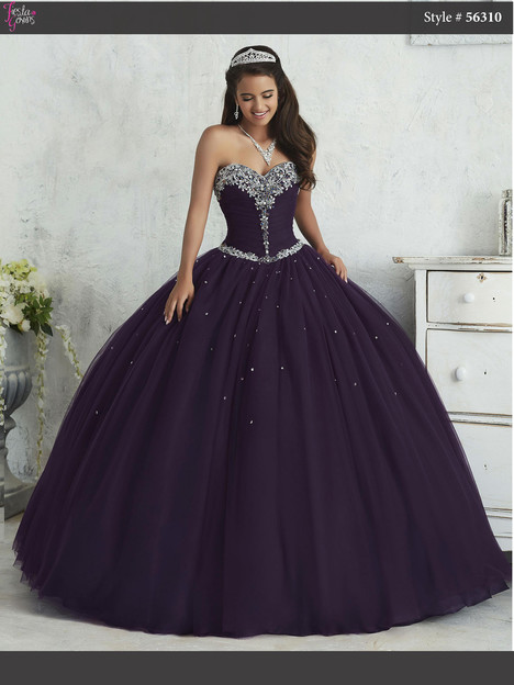56310 (plum) Prom                                             dress by Fiesta