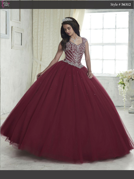 56312 (sangria) Prom                                             dress by Fiesta