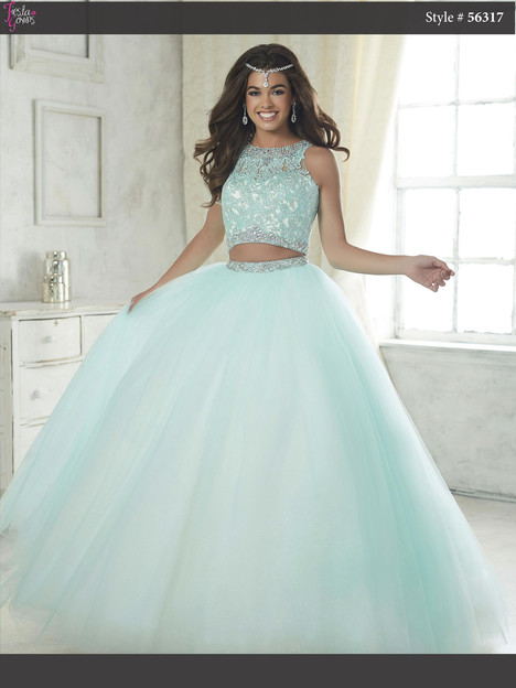 56317 (sea mist) Prom                                             dress by Fiesta