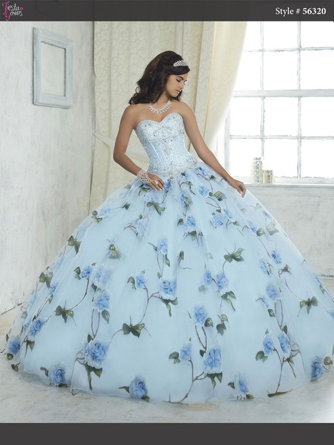 56320 (periwinkle) Prom                                             dress by Fiesta