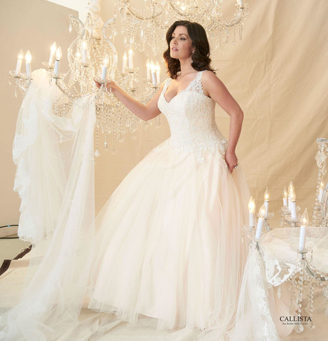 Cezzane Wedding                                          dress by Callista
