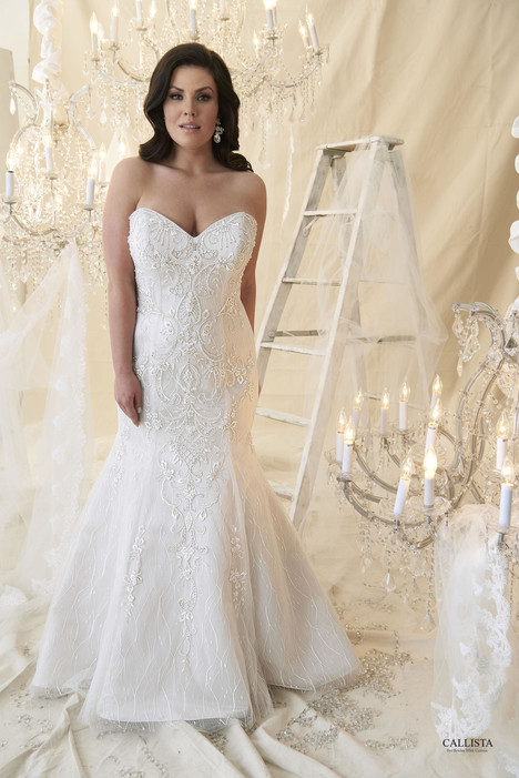 DaVinci Wedding                                          dress by Callista
