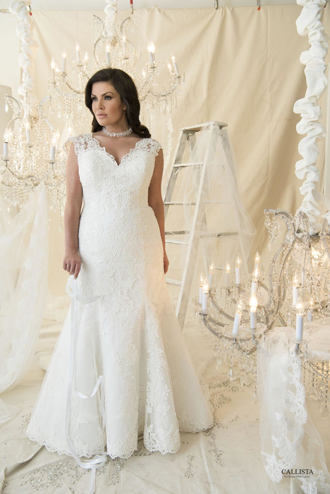 Fleury Wedding                                          dress by Callista