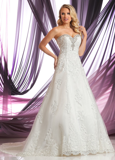 50389 Wedding                                          dress by DaVinci
