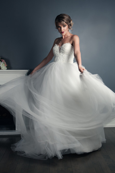 Kristin Wedding                                          dress by Anna Lang