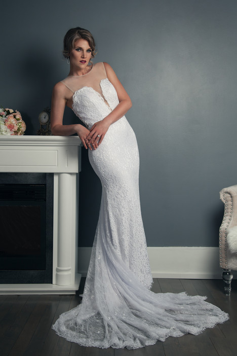 Cheryl Wedding                                          dress by Anna Lang