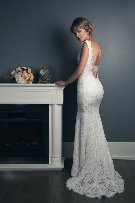 Erin Wedding                                          dress by Anna Lang