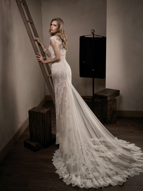 T192001 (back) Wedding                                          dress by Jasmine Couture