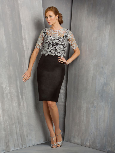 M170058 (sterling and black) gown from the 2015 Jasmine Black Label collection, as seen on dressfinder.ca