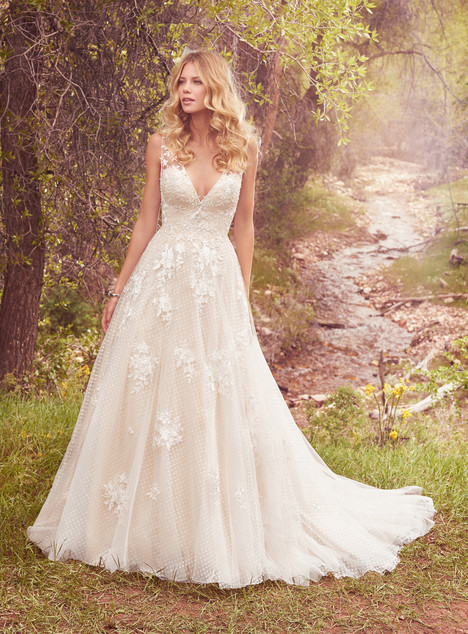 Meryl Wedding                                          dress by Maggie Sottero