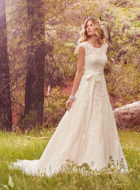 Lindsey Marie Wedding                                          dress by Maggie Sottero