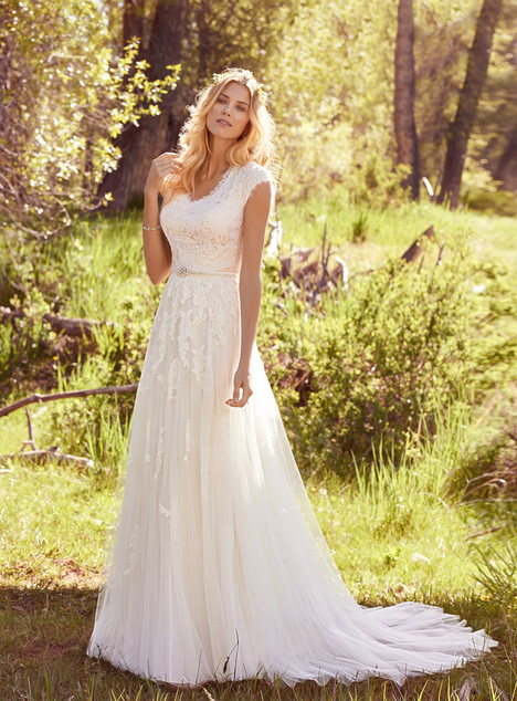 Ashley Wedding                                          dress by Maggie Sottero