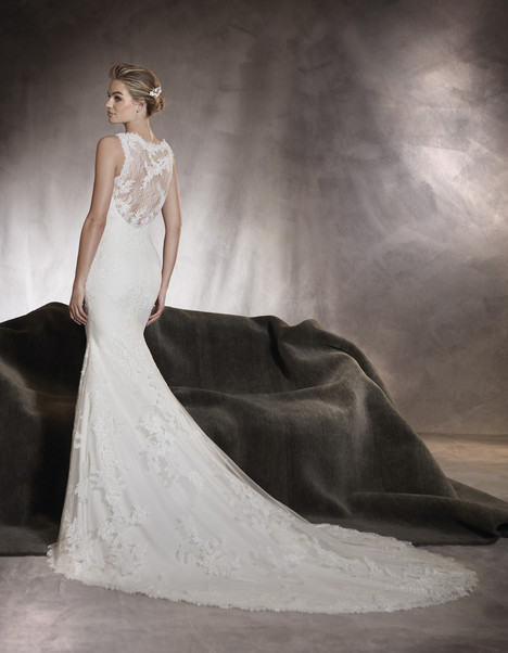 Alegria (back) gown from the 2017 Pronovias collection, as seen on dressfinder.ca