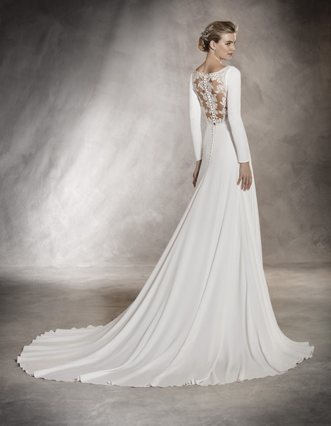 Anabel (back) Wedding                                          dress by Pronovias