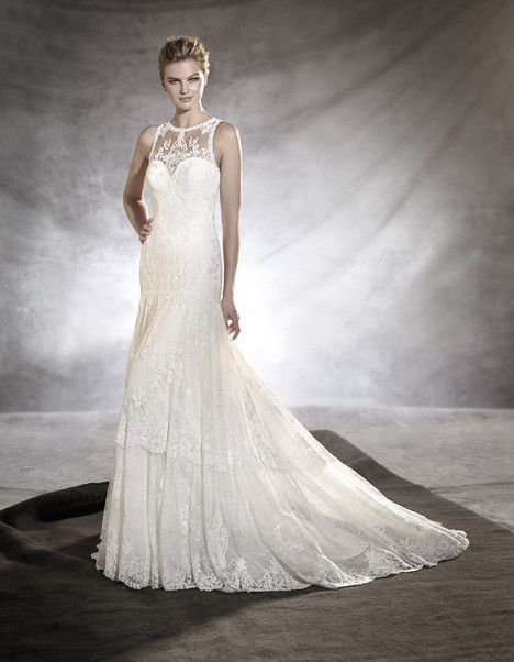 Osmelia gown from the 2017 Pronovias collection, as seen on dressfinder.ca