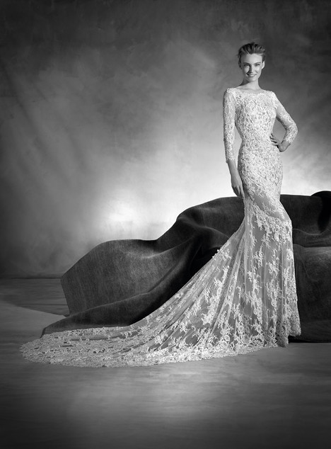 Navas gown from the 2017 Pronovias Atelier collection, as seen on dressfinder.ca