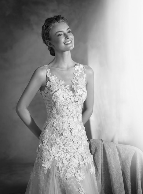 Nelsia (2) gown from the 2017 Pronovias Atelier collection, as seen on dressfinder.ca