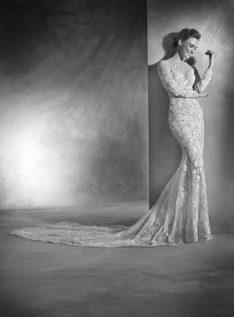 Nerva gown from the 2017 Pronovias Atelier collection, as seen on dressfinder.ca