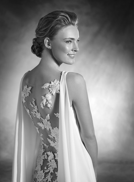 Niara (back) gown from the 2017 Pronovias Atelier collection, as seen on dressfinder.ca