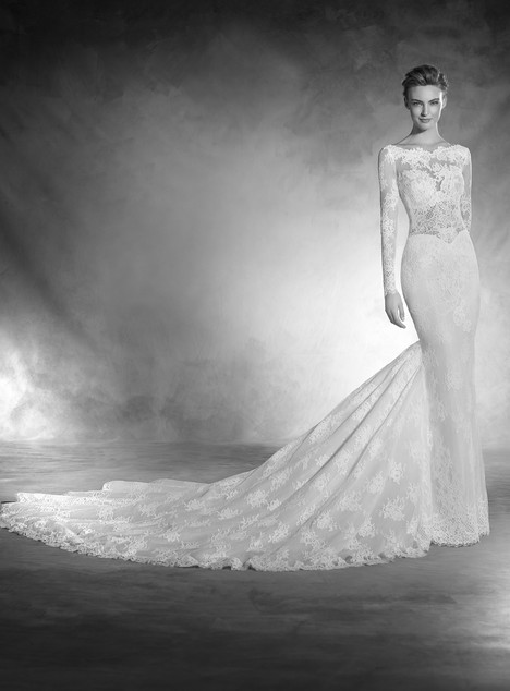 Nuni gown from the 2017 Pronovias Atelier collection, as seen on dressfinder.ca