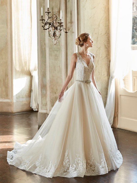 EK1094 Wedding dress by Eddy K
