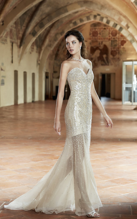 CT165 Wedding                                          dress by Eddy K : Couture