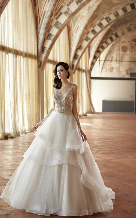 CT166 Wedding                                          dress by Eddy K : Couture