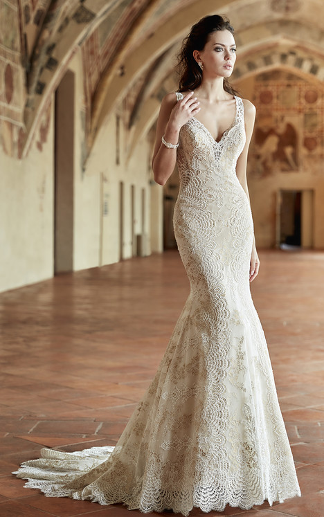 CT182 Wedding                                          dress by Eddy K : Couture