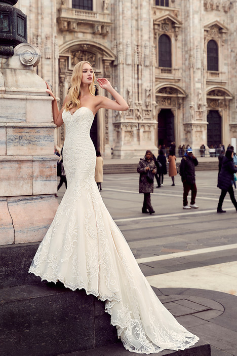 MD196 Wedding                                          dress by Eddy K : Milano