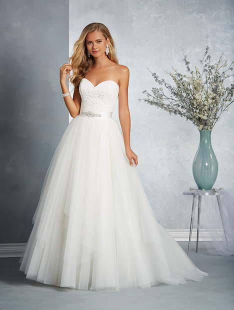 2606 Wedding                                          dress by Alfred Angelo