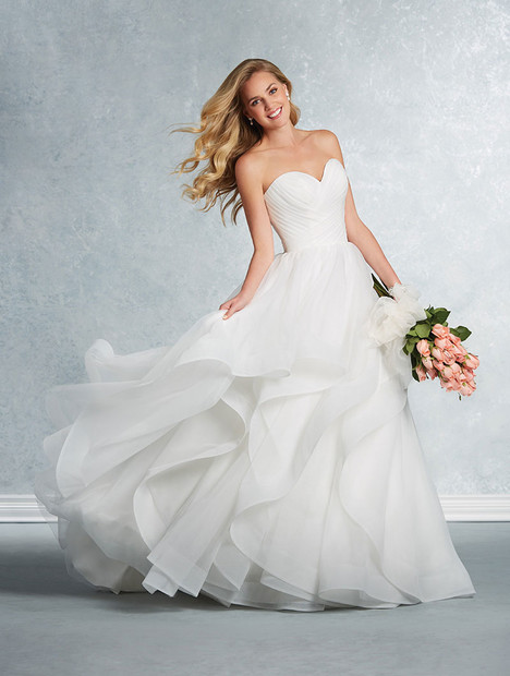 2609 Wedding                                          dress by Alfred Angelo