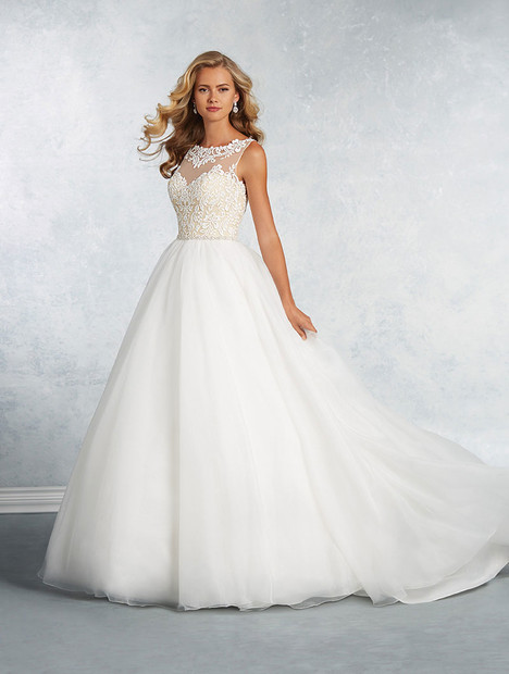 2619 Wedding dress by Alfred Angelo