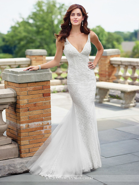 Style 117196 gown from the 2017 Enchanting by Mon Cheri collection, as seen on dressfinder.ca