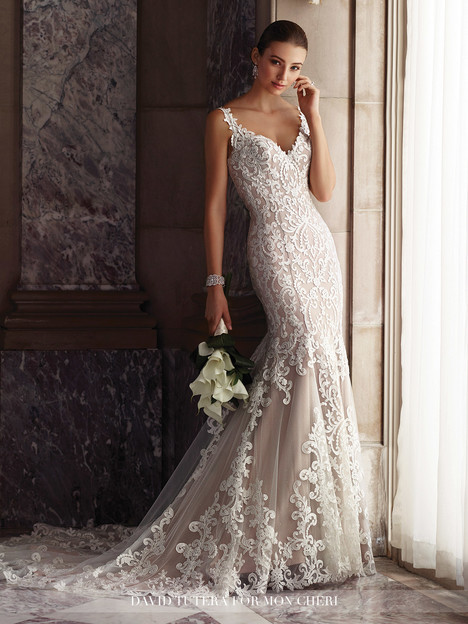 Amber (117268) Wedding                                          dress by Martin Thornburg for Mon Cheri