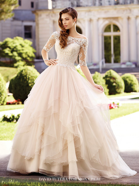 Aurelia (117292) Wedding                                          dress by Martin Thornburg for Mon Cheri