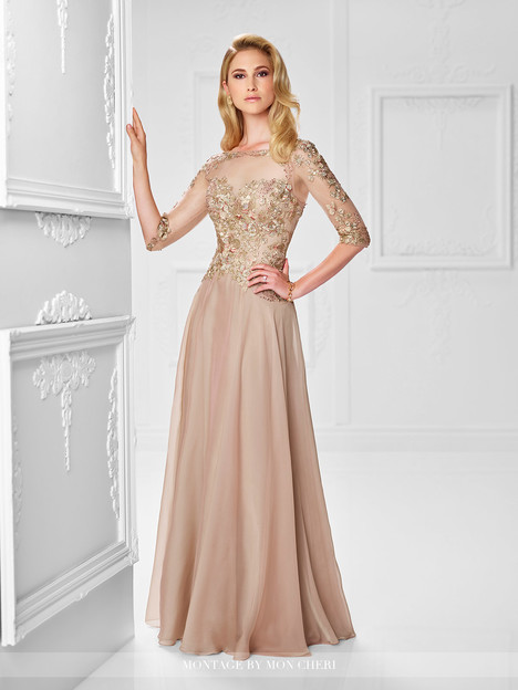 117901 (champagne) Mother of the Bride dress by Montage by Mon Cheri