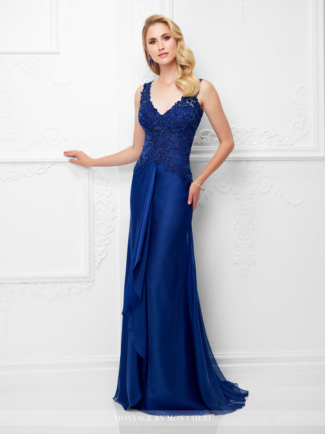 117909 (sapphire) Mother of the Bride dress by Montage by Mon Cheri