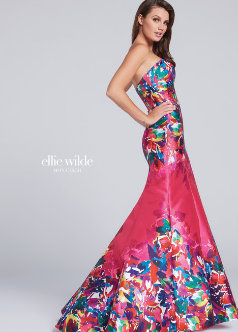 EW117002 (pink) Prom                                             dress by Ellie Wilde