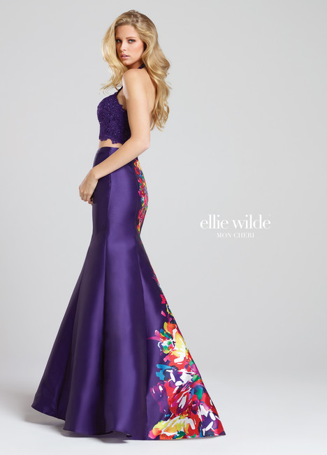 EW117004 (purple) Prom                                             dress by Ellie Wilde