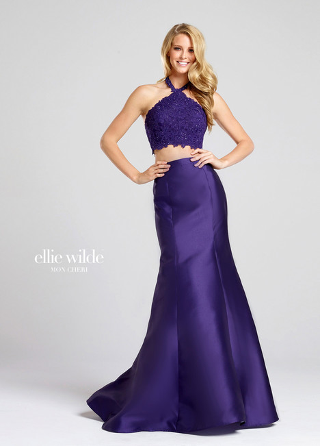 EW117004 (Purple) (2) Prom                                             dress by Ellie Wilde