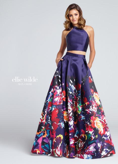 EW117005 (purple) Prom                                             dress by Ellie Wilde