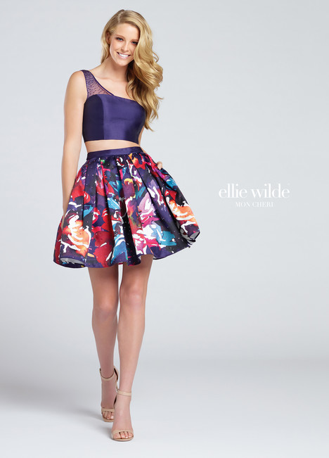 EW117006 (purple) Prom                                             dress by Ellie Wilde