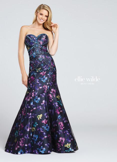EW117007 (black) Prom                                             dress by Ellie Wilde