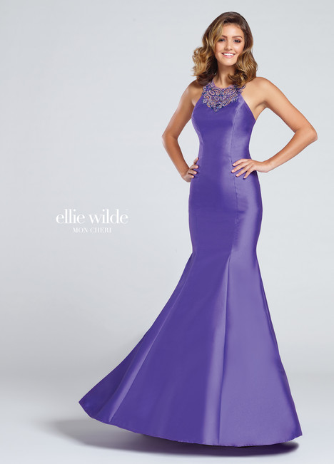 EW117011 (purple) Prom                                             dress by Ellie Wilde