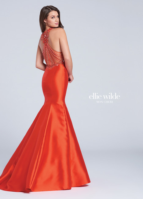 EW117011 (red) Prom                                             dress by Ellie Wilde