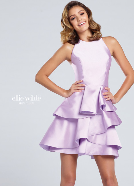 EW117016 (purple) Prom                                             dress by Ellie Wilde